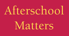 Afterschool Matters home banner
